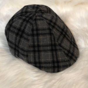 MEN'S VINTAGE FLANNEL FLAT CAP